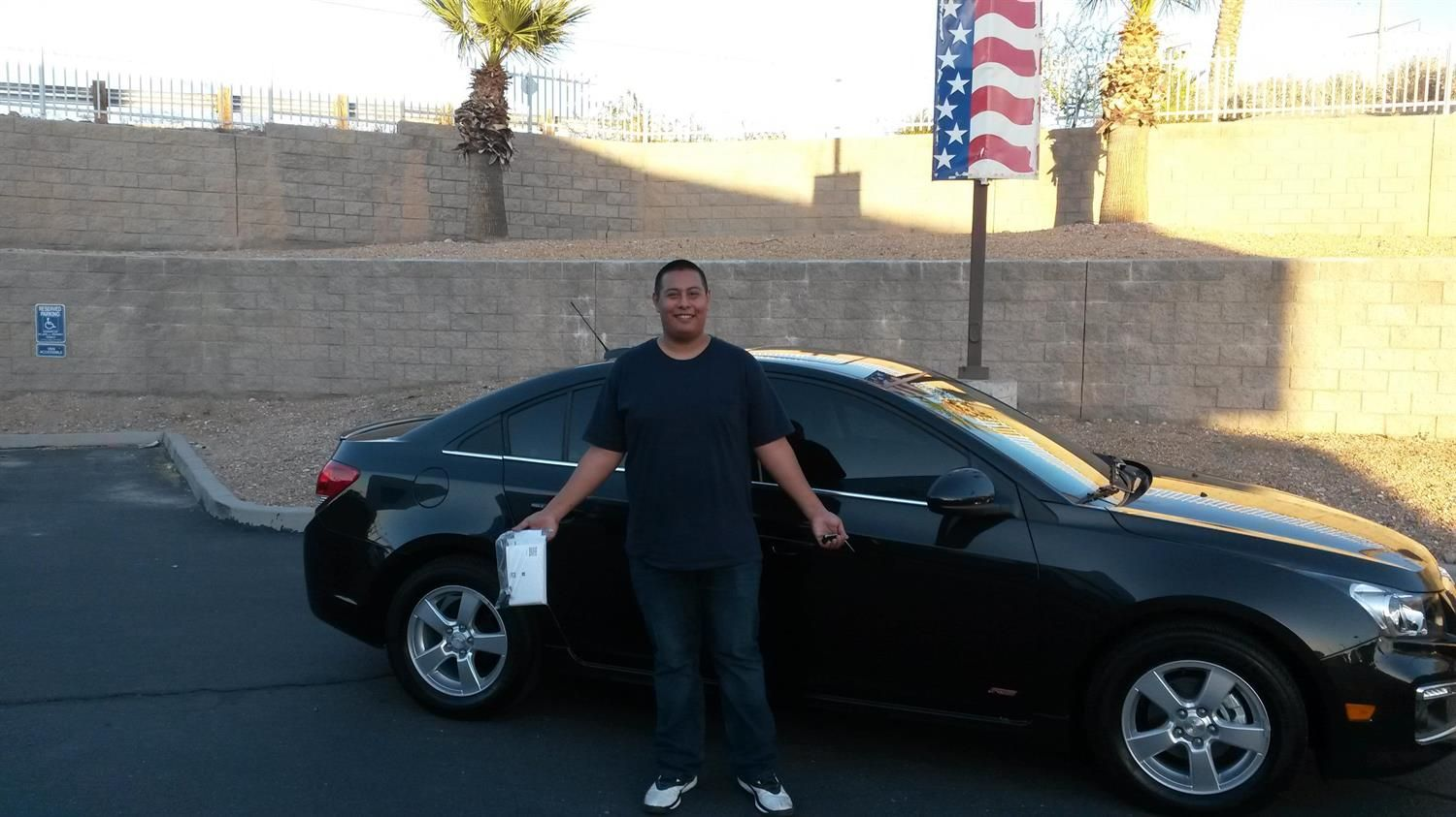 Armando S New 2016 Chevrolet Cruze Congratulations And Best Wishes From Findlay Motor Company And Bruce Chevrolet Cruze Congratulations And Best Wishes Cruze