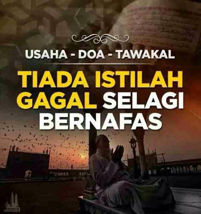 Jangan Putus Asa Motivasi Gambar Lucu Doa