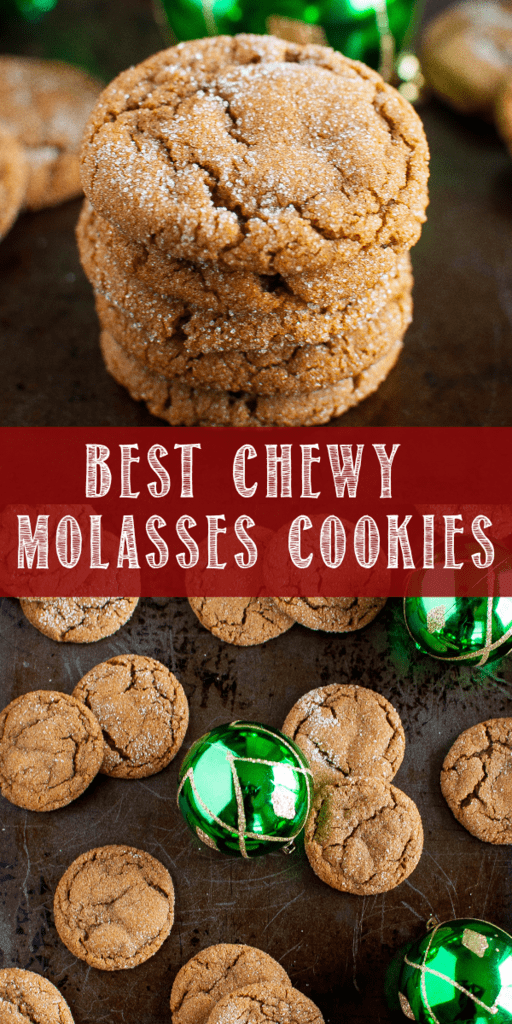 Photo of These are the Best Chewy Molasses Cookies ever, and a must make Christmas cookie…