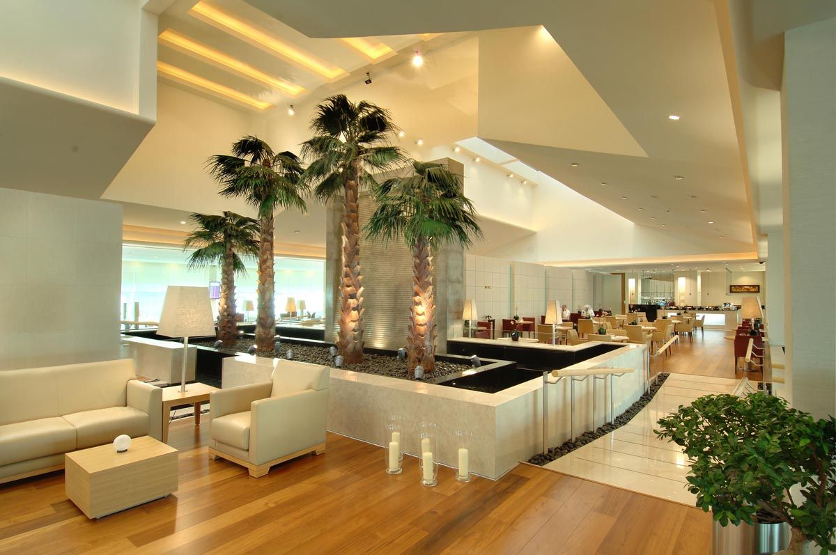 First Class Lounge Within QatarAirways Premium Terminal In Doha