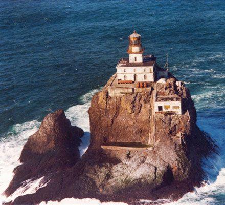 Tillamook Rock Lighthouse Cannon Beach