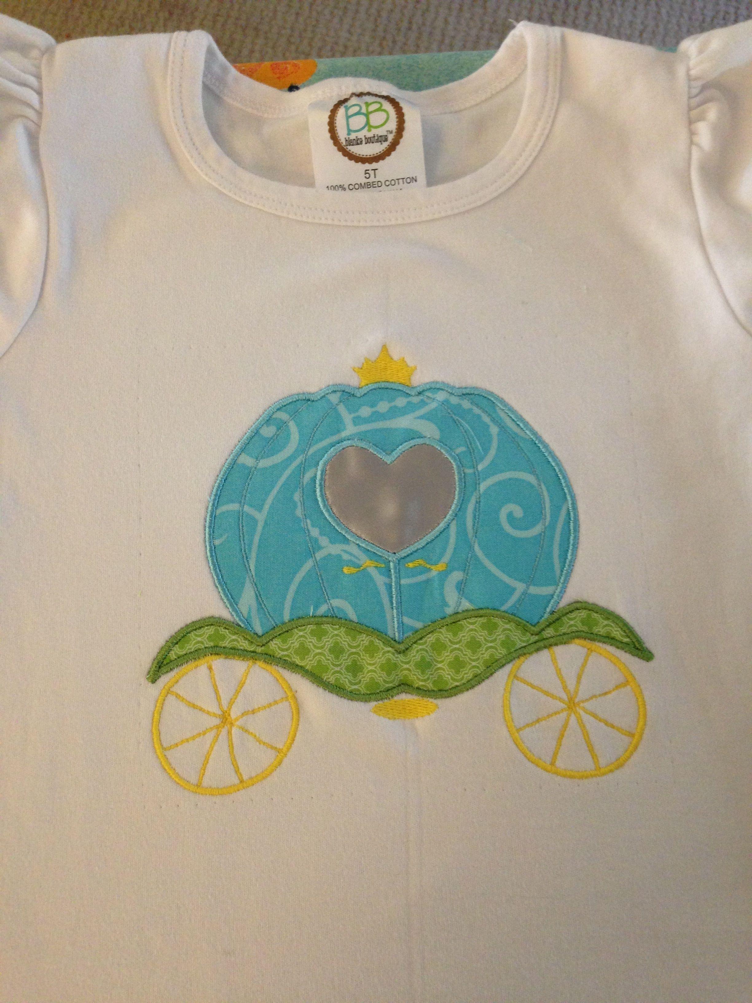 Princess carriage shirt