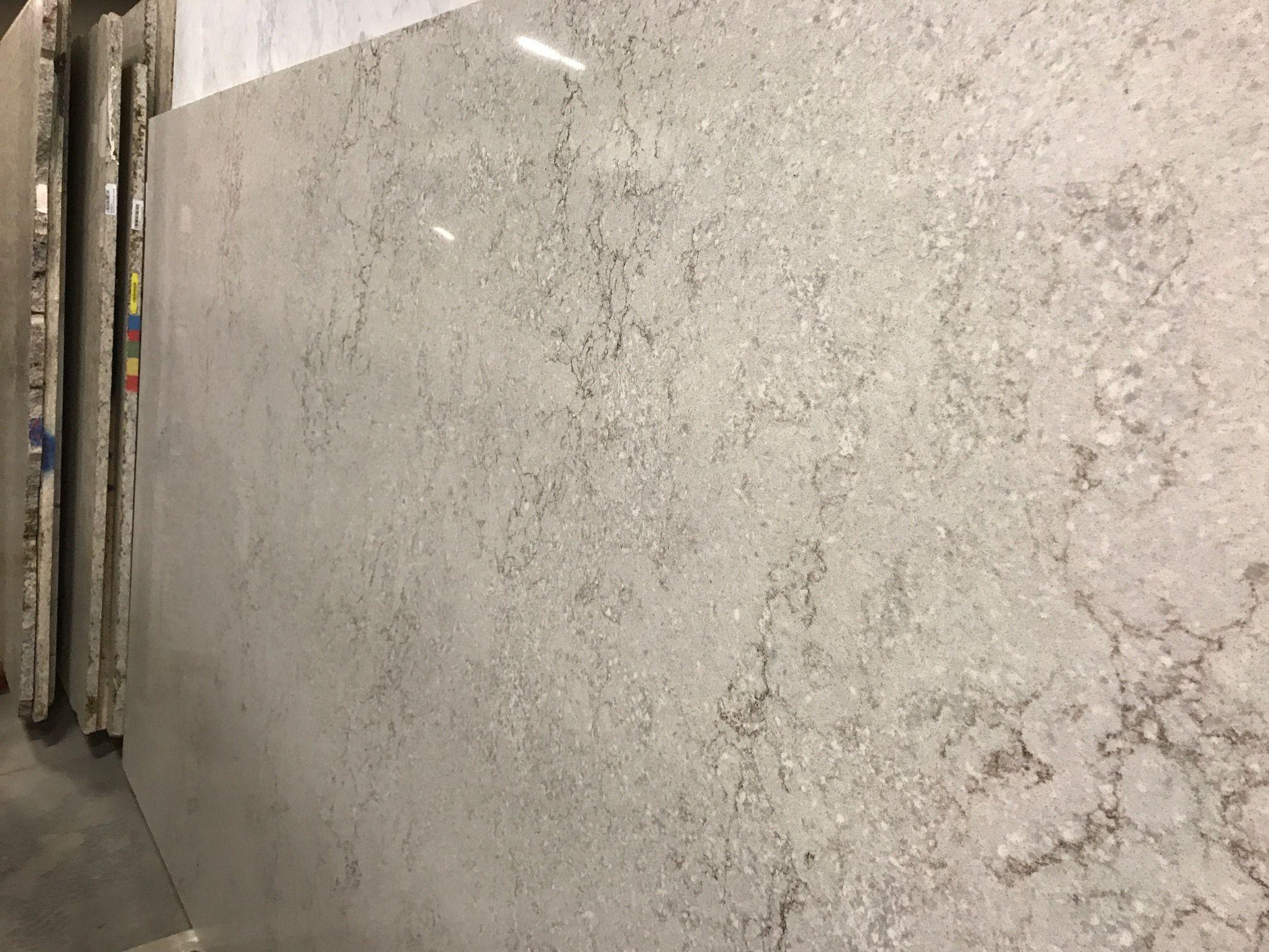 Gray Lagoon Polished Quartz