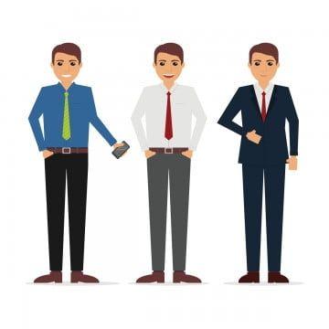 Free Businessman Vector Character Cartooncharacter Vectorcharacter Character Vector Person Drawing Business Cartoons Business Man