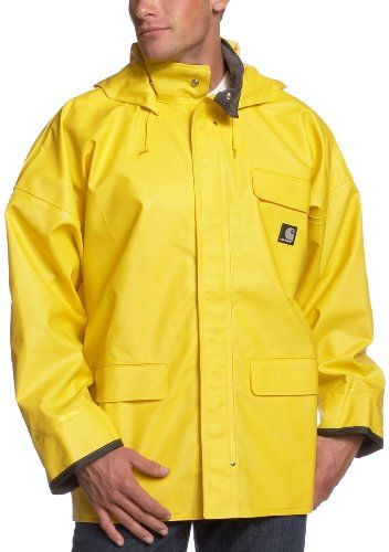 81b2356b3fac Carhartt Men`s PVC Waterproof Rain Coat