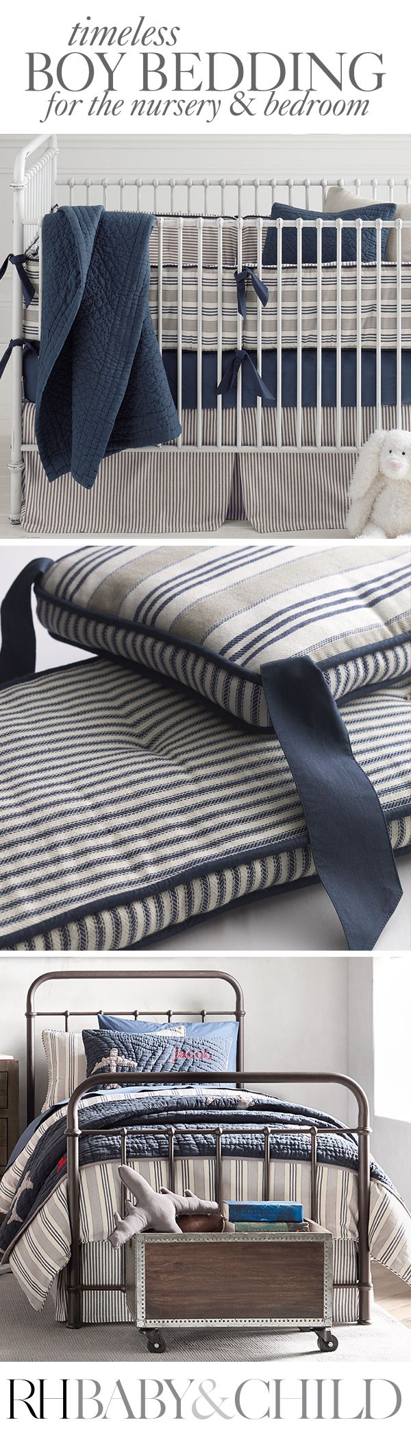 Tailored From Pure Cotton With Classic Yarn Dyed Stripes