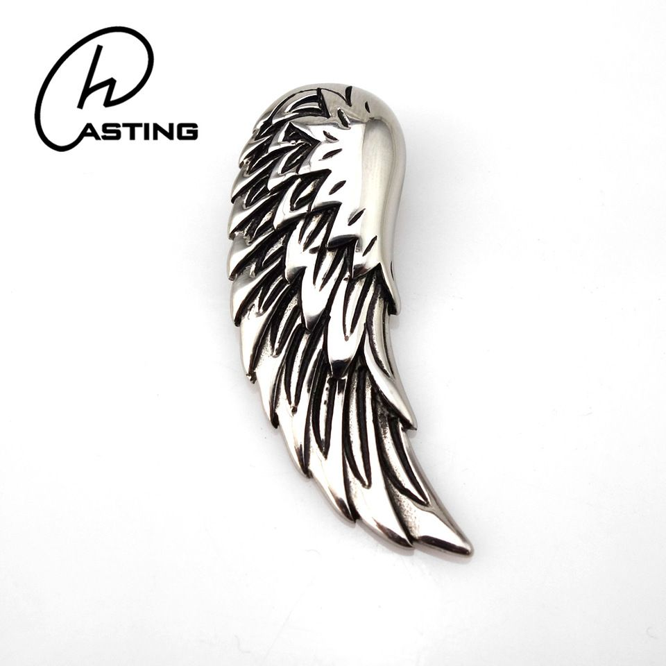 Custom stainless steel angel wing pendant charms wholesale alibaba custom stainless steel angel wing pendant charms wholesale aloadofball Gallery
