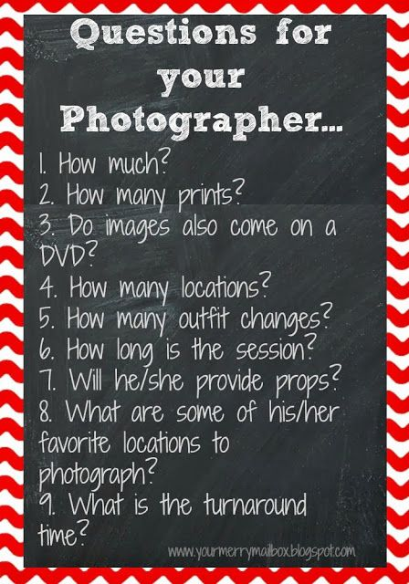 Wedding Photography Business Plans: A Quick List Of Questions To Ask Your Photographer When