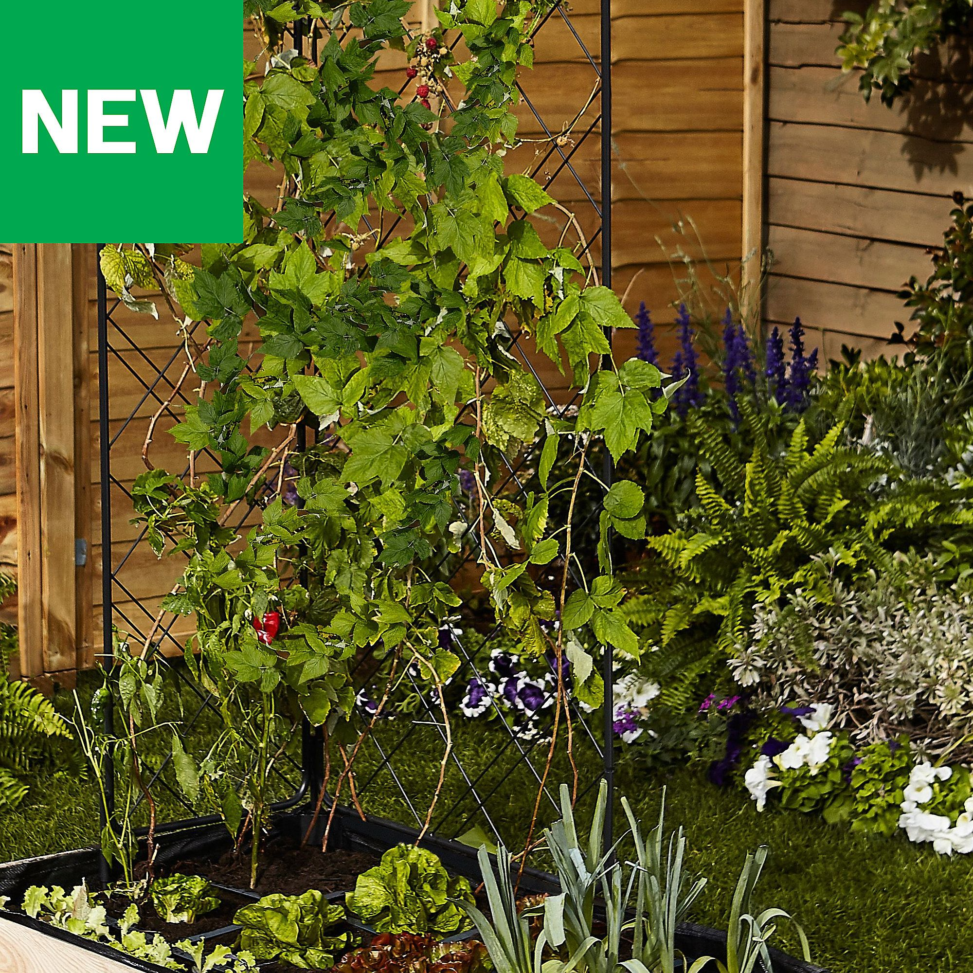 Verve Plastic Raised Bed Liner Large Container Plants Raised