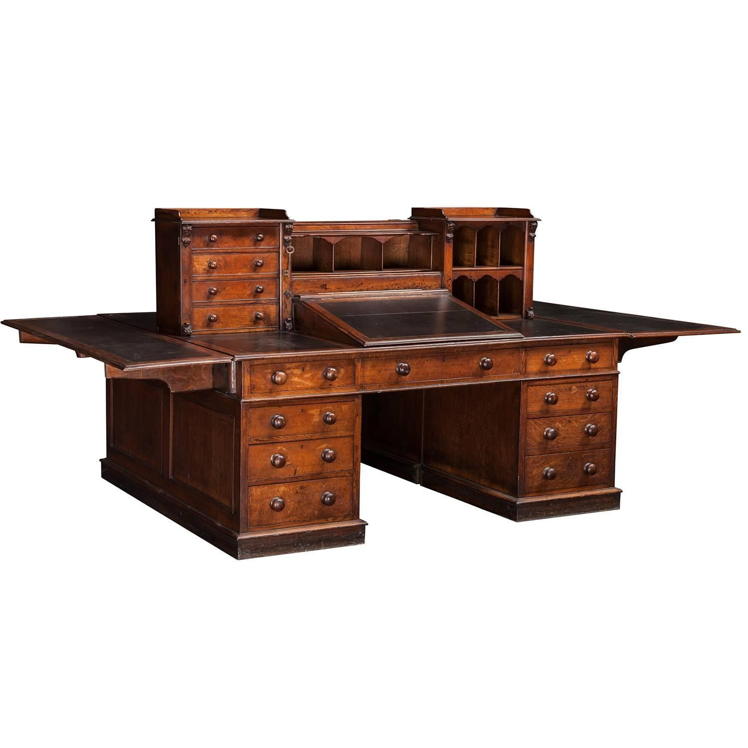 partner bridgeport piece dutchcrafters p amish partners from desk optional hutch with three pid