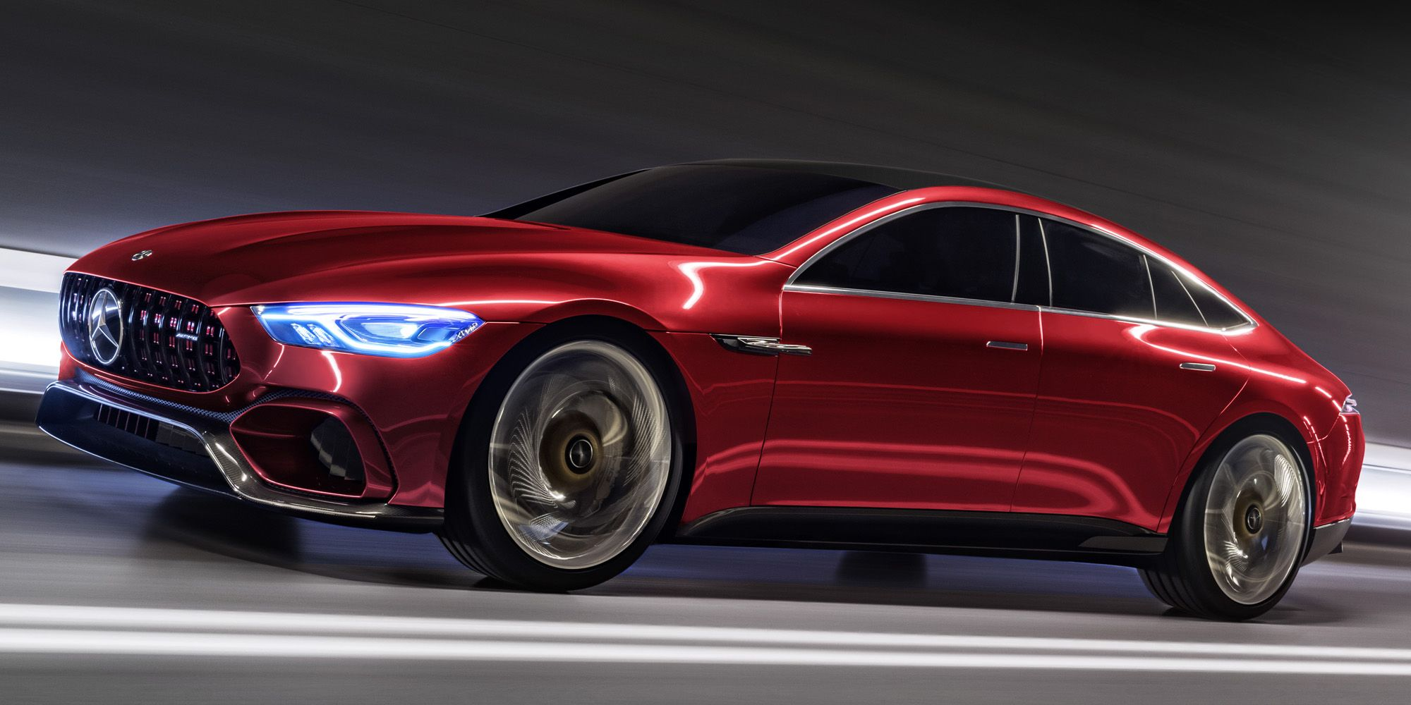Mercedes Amg Gt Concept Highlights Dynamic Autonomous Future