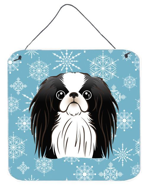 Snowflake Japanese Chin Wall or Door Hanging Prints ...