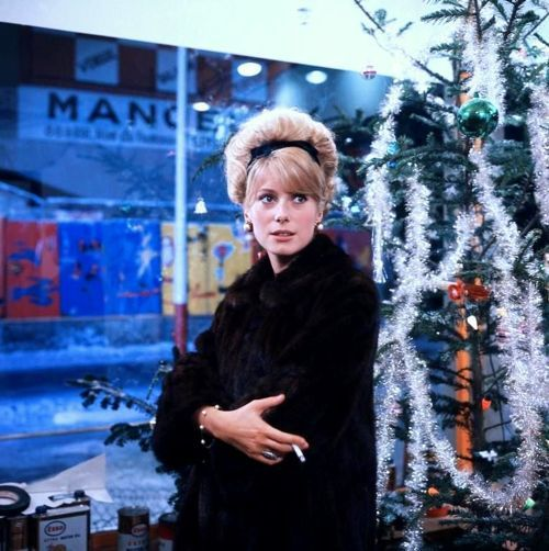 Catherine Deneuve in The Umbrellas of Cherbourg (Jacques Demy, 1964)