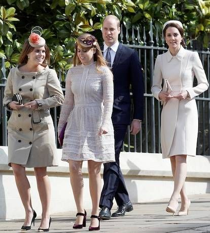 Kate Middleton Curtsies To The Queen At Royal Easter Sunday Service