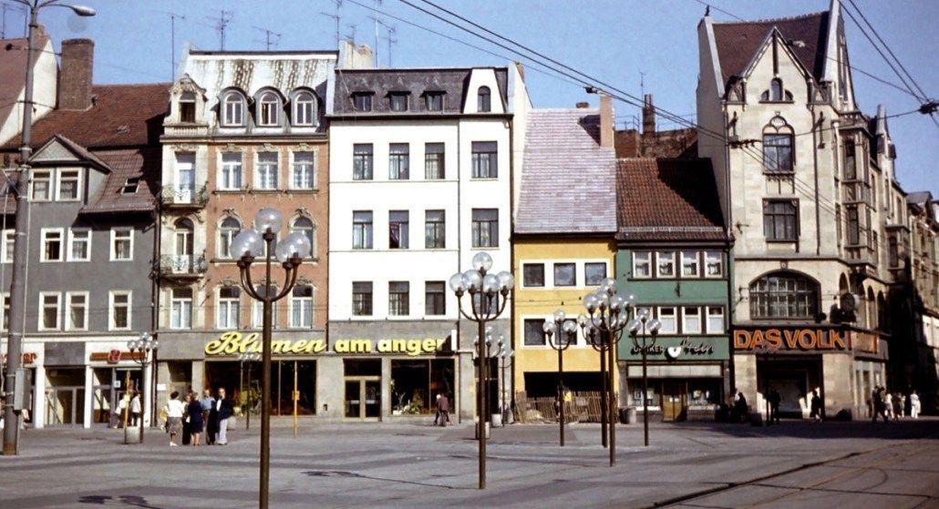Erfurt In Farbe Fotos Aus Der Sammlung Von Frank Palmowski