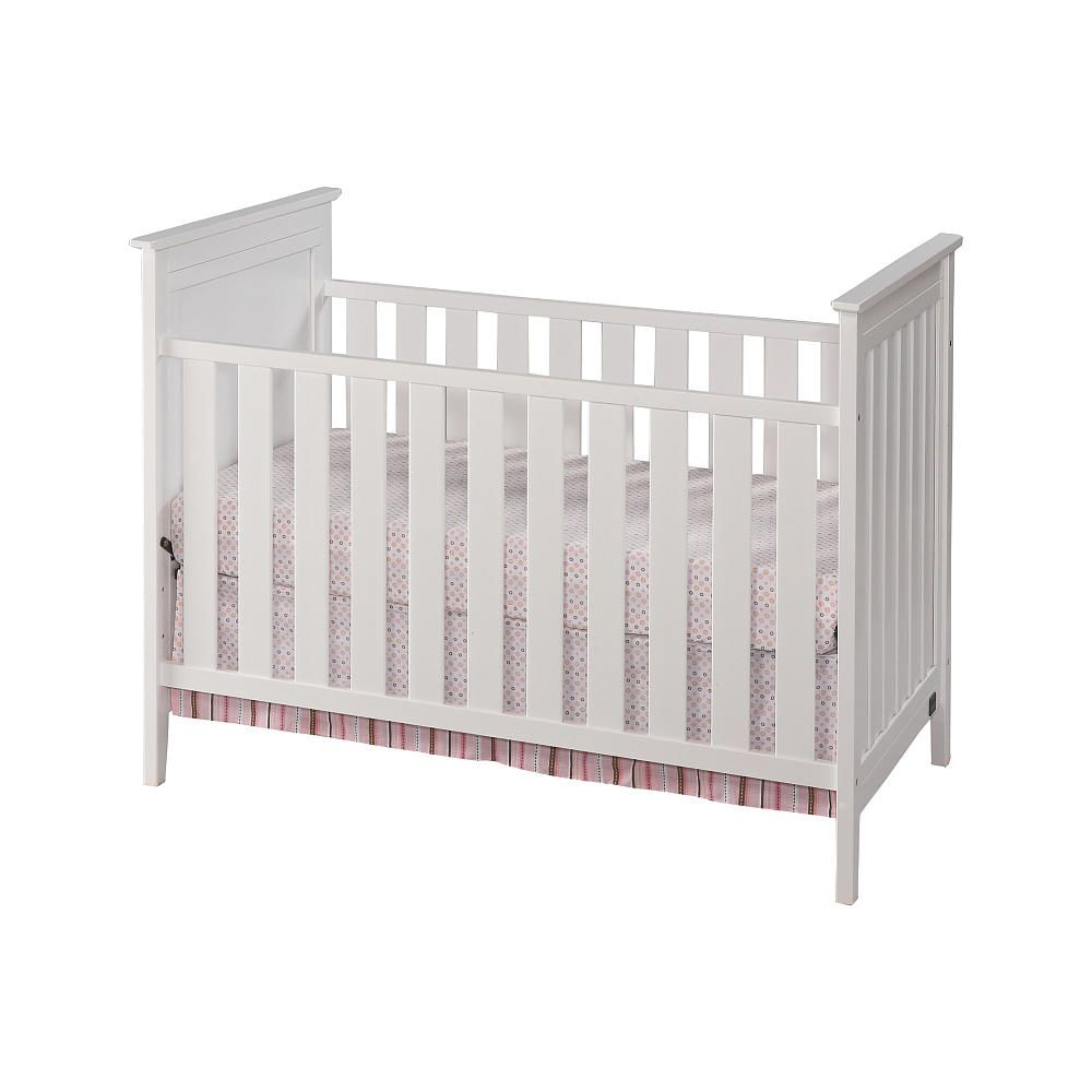 c0b2a419d Children Furniture. Nursery Room Ideas. MELODY 3-IN-1 CRIB IN WHITE - Delta  - Babies