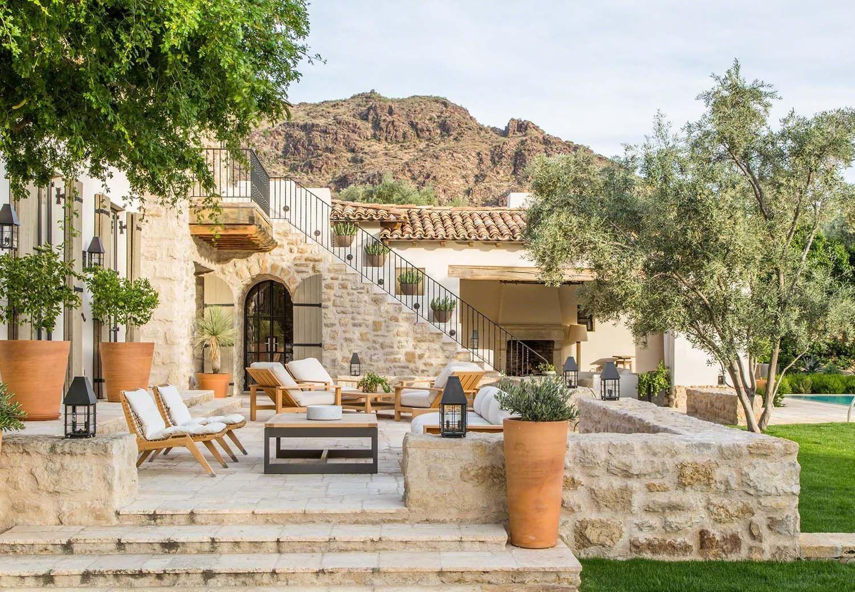 Photo of Schönes Traumhaus im mediterranen Stil in Paradise Valley, Arizona – Besten Haus Dekoration