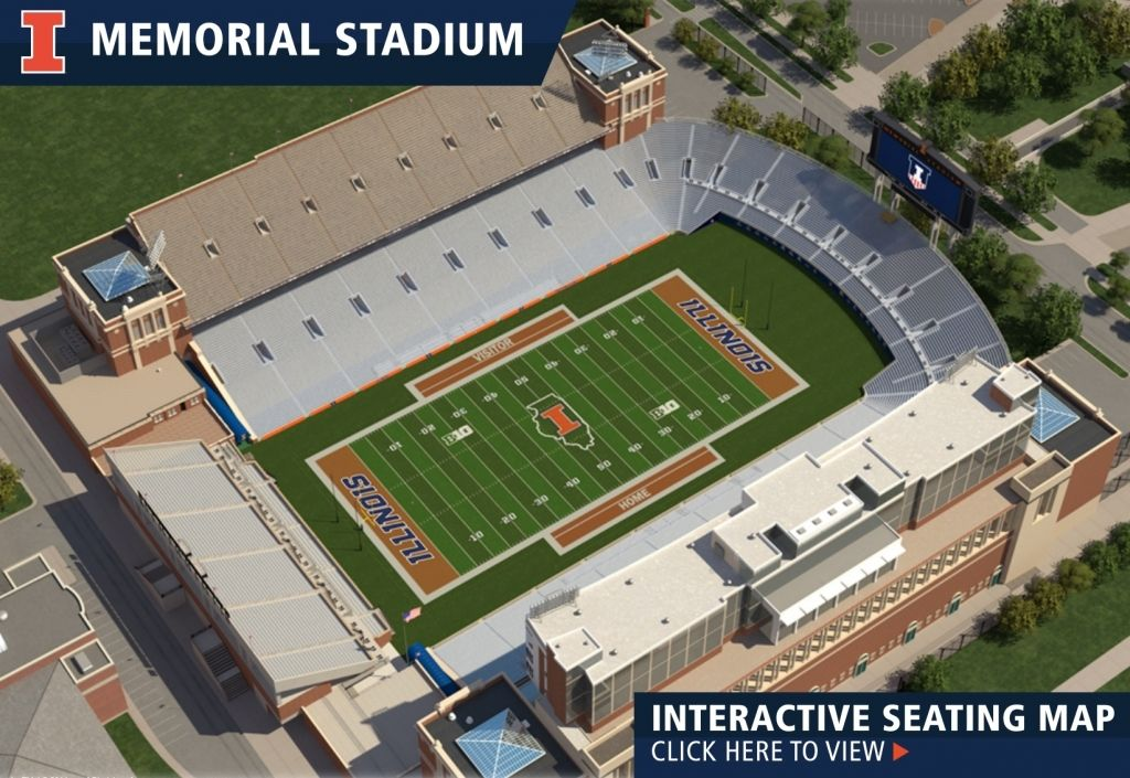 The Most Awesome And Interesting Memorial Stadium Illinois Seating Chart Di 2020