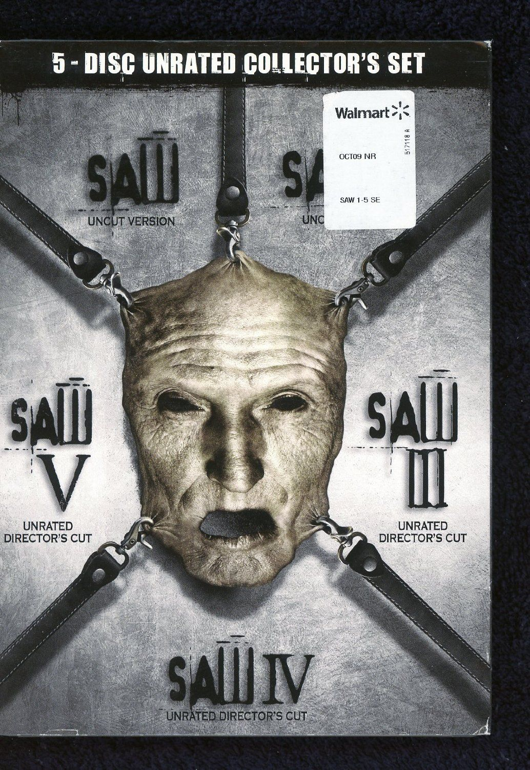 saw 1.2.3.4.5 complete horror collection | movies | pinterest