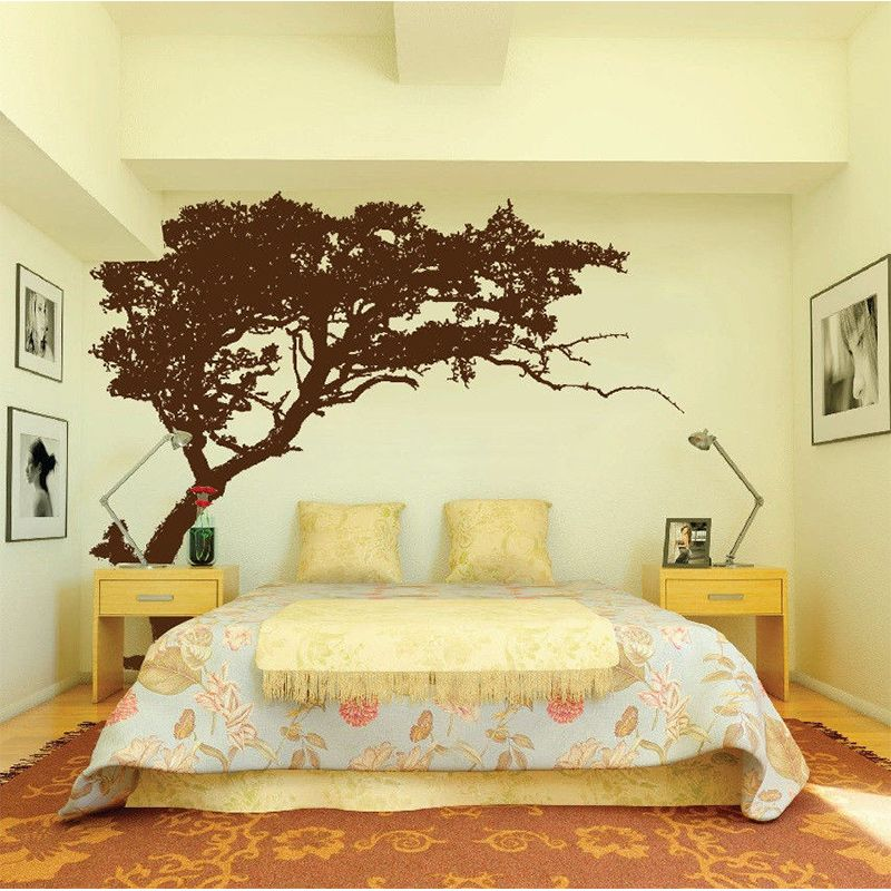 Hot Sale Large Wall Tree Nursery Decal Detailed Wall Art Sticker ...