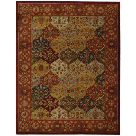 Safavieh Heritage Woodville Traditional Area Rug Or Runner Multicolor With Images Red Wool Area Rug Wool Area Rugs