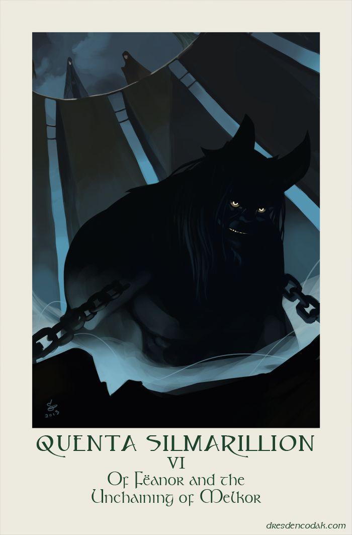 "Quenta Silmarillion Chapter 6: ""Of Fëanor and the Unchaining of Melkor"""