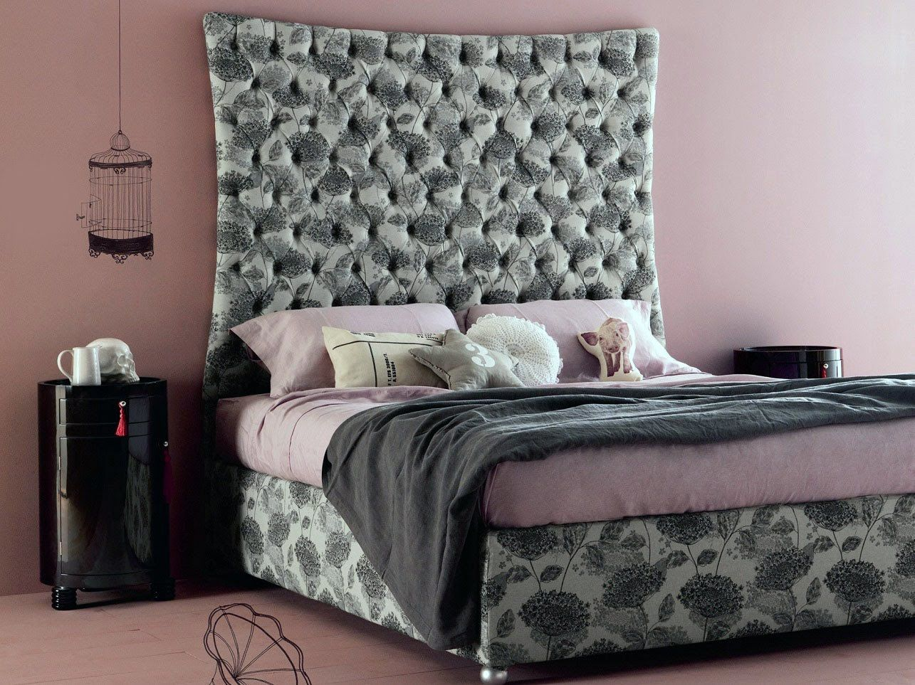 Diy fabric headboard & Diy fabric headboard slipcover | Decorating Ideas | Pinterest ... pillowsntoast.com