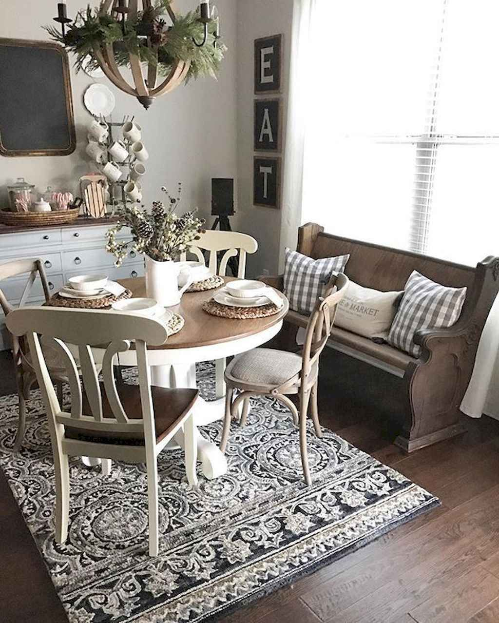 Casual Dining Rooms Decorating Ideas For A Soothing Interior: 70 Rustic Farmhouse Living Room Decor Ideas And Makeover