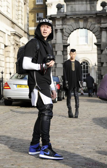 Streetstyle At London Fashion Week Mens Fashion