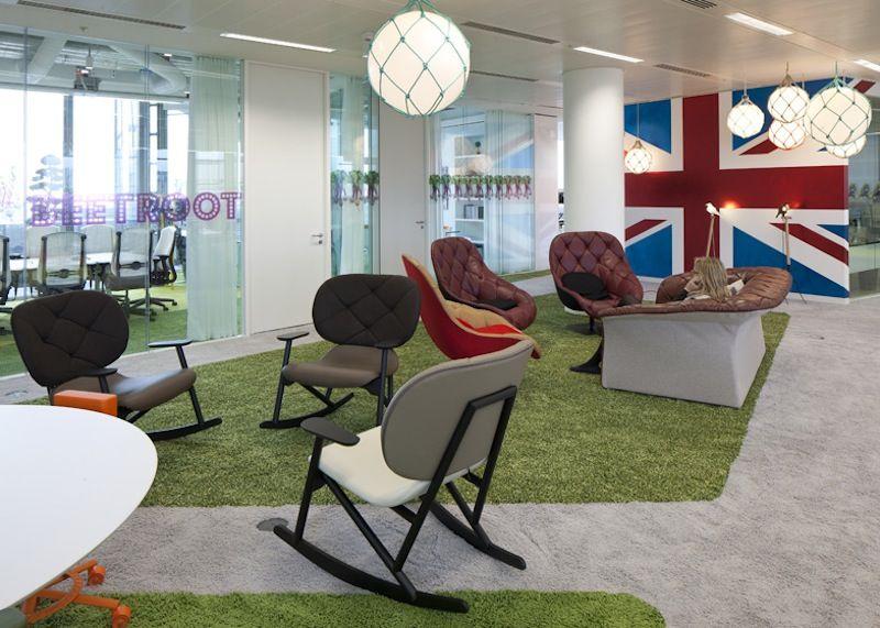 Gli Uffici Di Google A Londra Idee Di Interior Design Ufficio