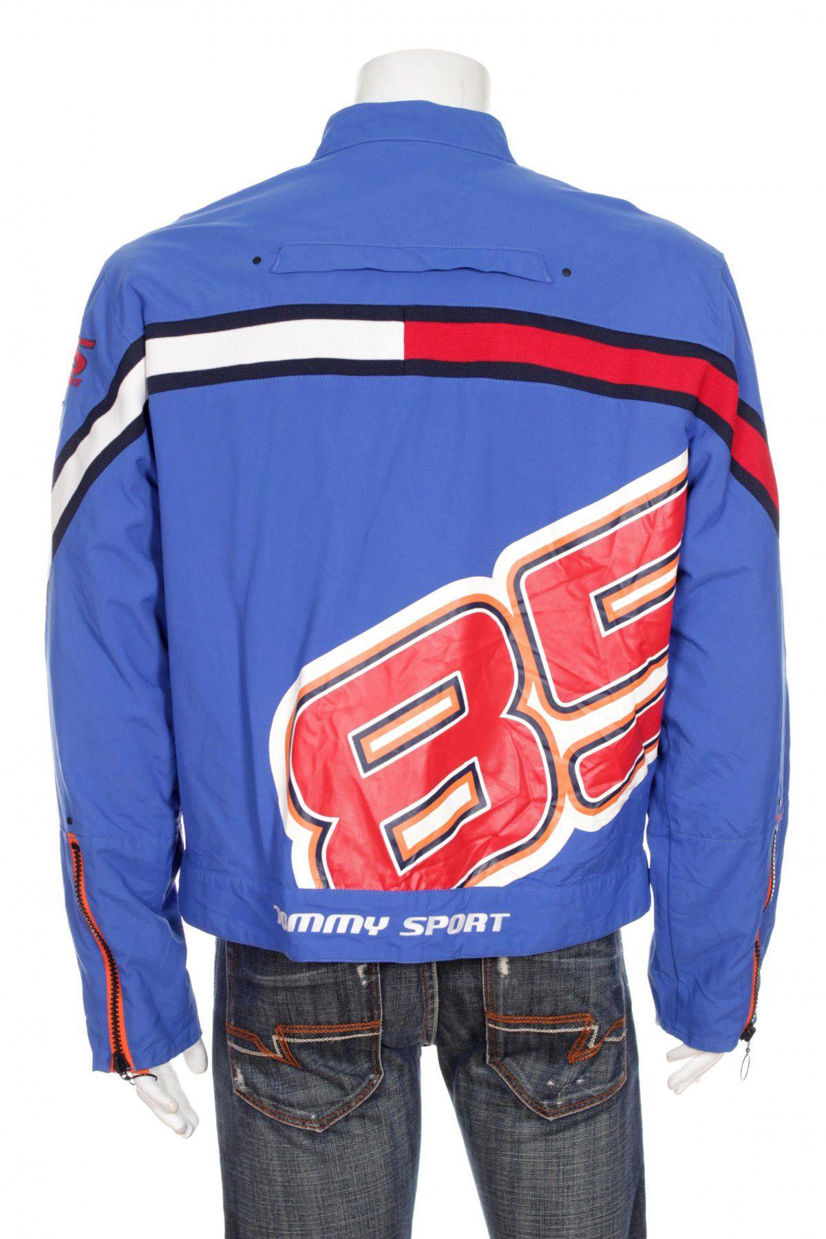 Tommy Hilfiger Windbreaker Tommy Sport Motor Jacket Big Logo Etsy Tommy Hilfiger Windbreaker Tommy Hilfiger Windbreaker