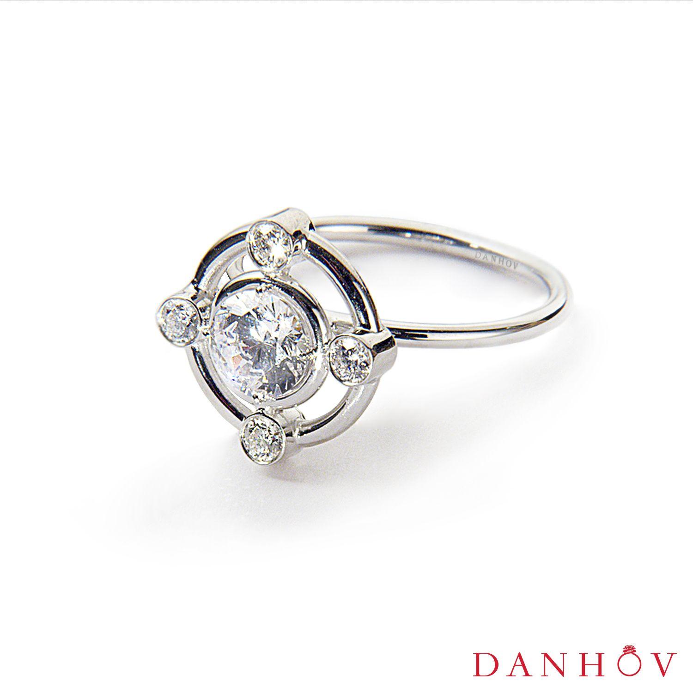 Danhov Unique Style Engagement Ring Designer Engagement Rings Engagement Rings Luxury Engagement Rings