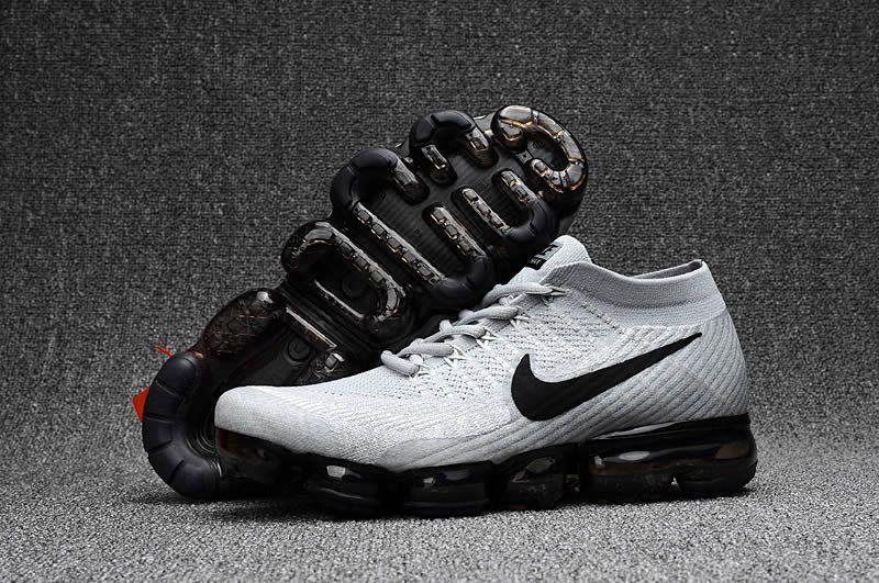 Men Nike Air Vapormax Flyknit White Black Nike shoes air