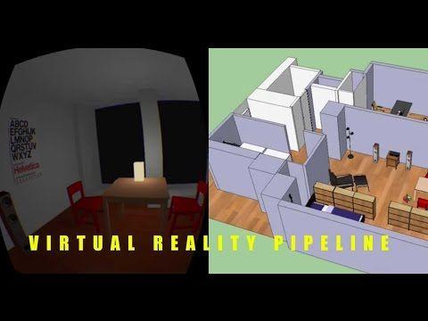 VR Design Visualization Pipeline: SketchUp Pro, Unity, Oculus Rift (2014)