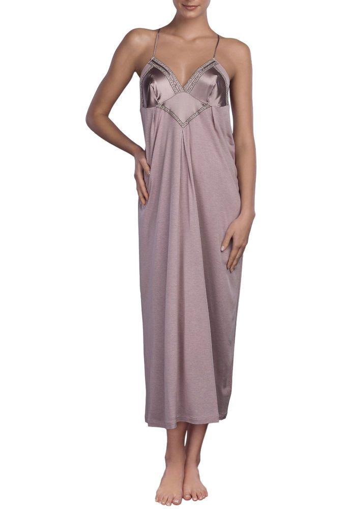 La Perla Villa Toscana Silk Nightgown Negligee L Lilac Stunning Back ...
