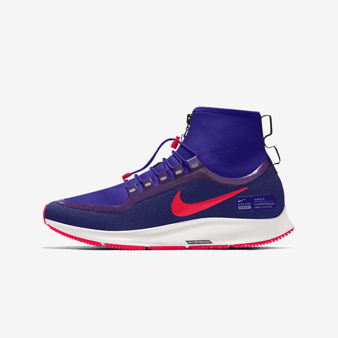 Nike Air Zoom Pegasus 35 Mid Shield By You Men S Running Shoe Size 10 5 Multi Color Nike Pegasus Nike Running Shoes For Men