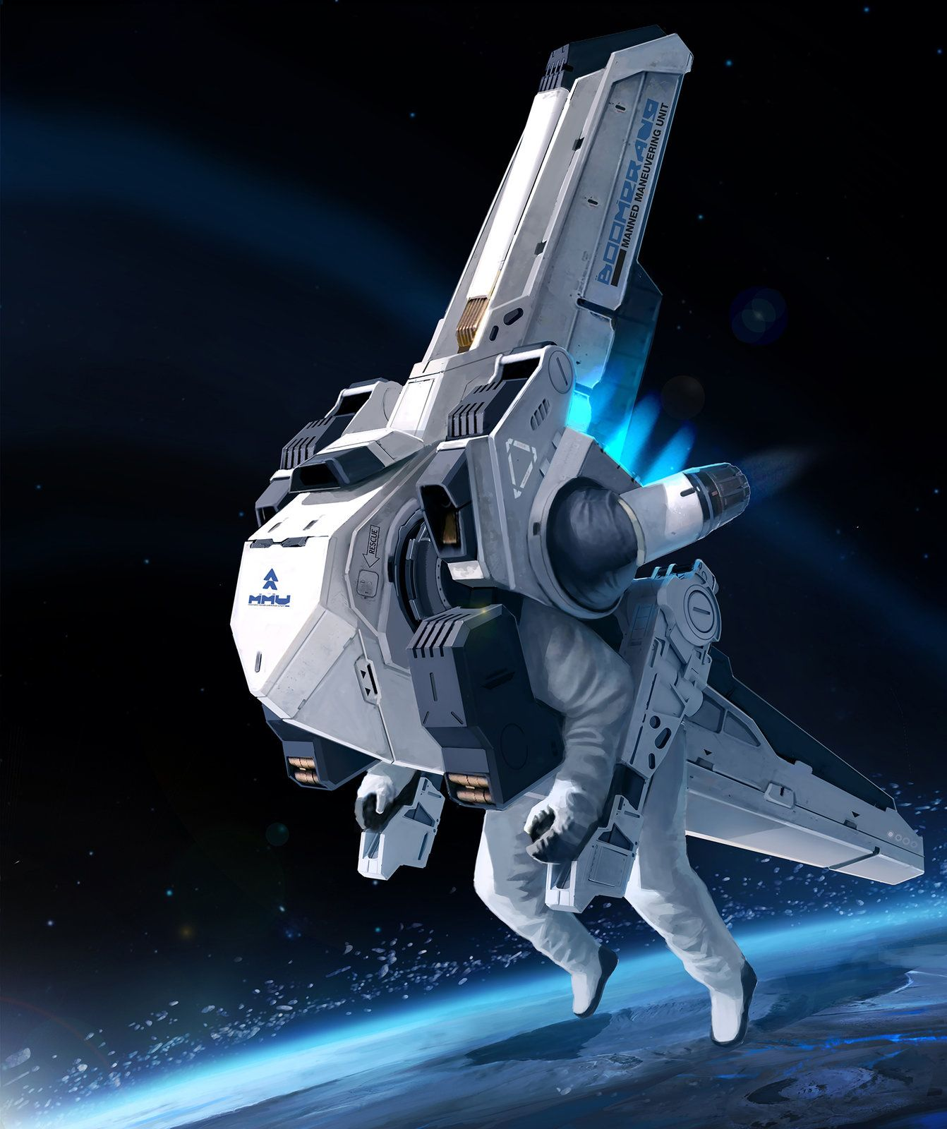 future rocket ship - 736×877