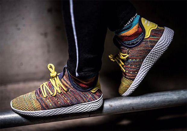#sneakers #news Pharrell's Next adidas Human Race Shoe Will Feature  Multi-Color Uppers