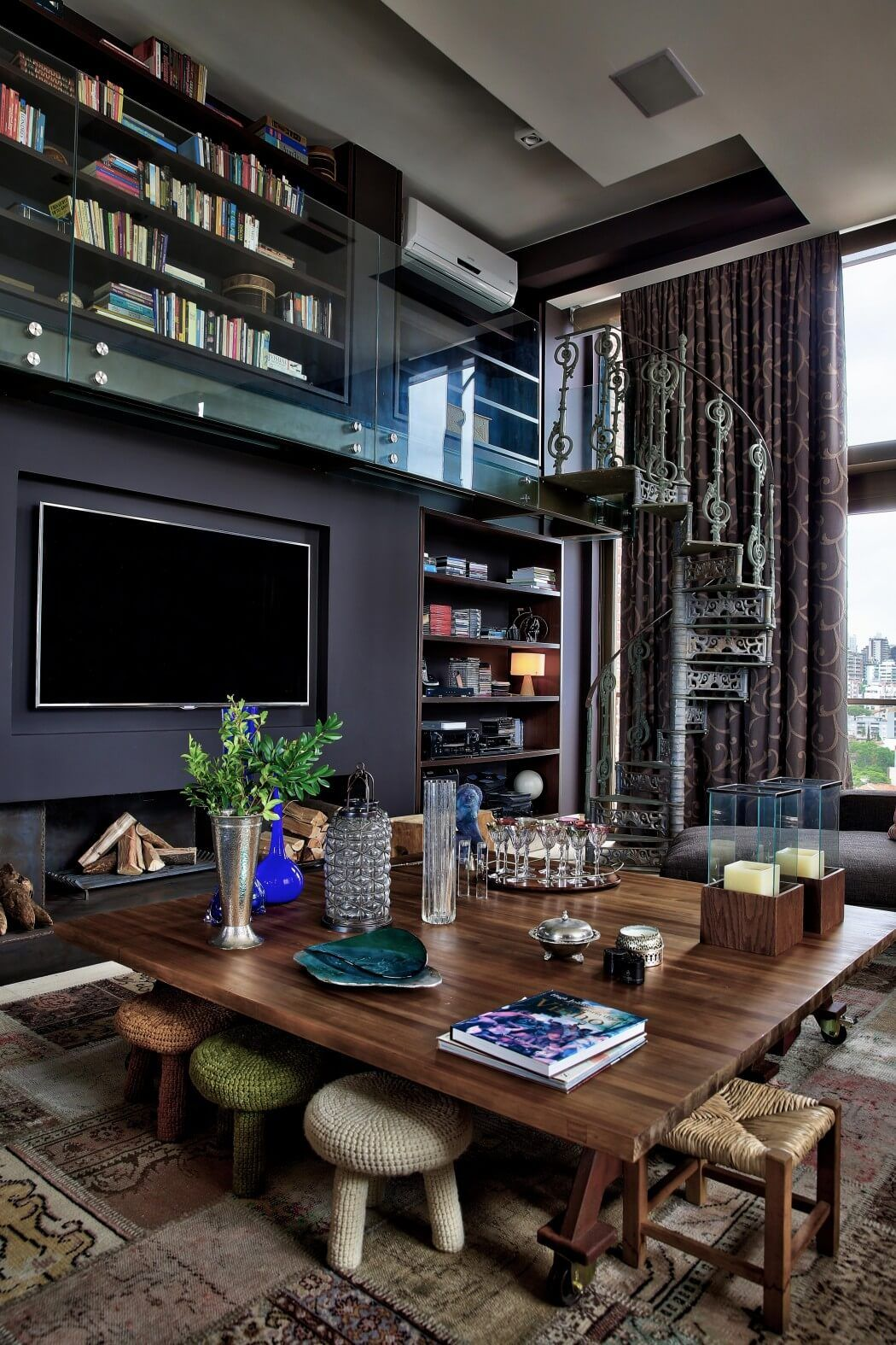 Penthouse Apartment By Tellini Vontobel Arquitetura | HomeAdore Luxury Home  Decor, Luxury Apartments, Home