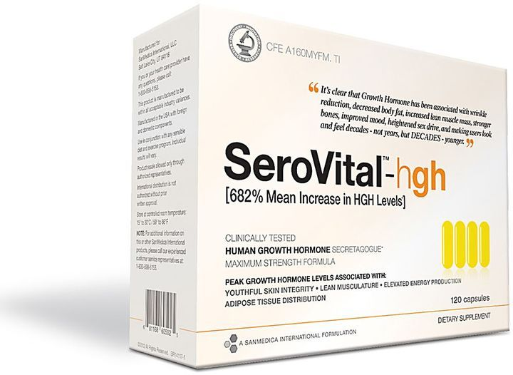 Growth hormone human stimulant