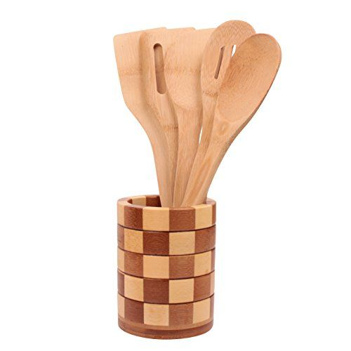 Wooden Spoons Ladle For Cooking Premium Quality Utensils By Ergo Kitchen Accessories 5