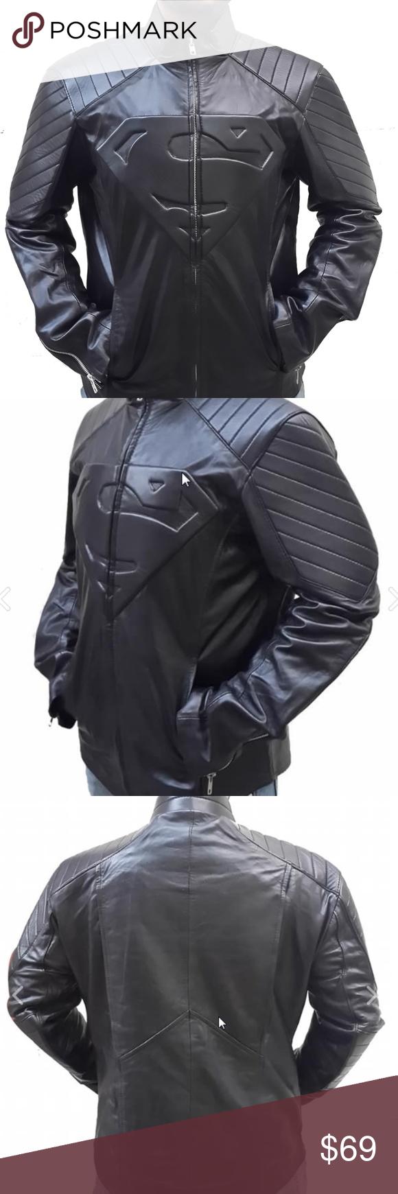 Superman Smallville Bikers Jacket NWT Jackets, Biker