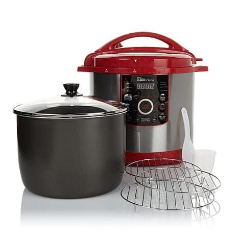 Elite Bistro 12-quart Electric Pressure Cooker … | pressure