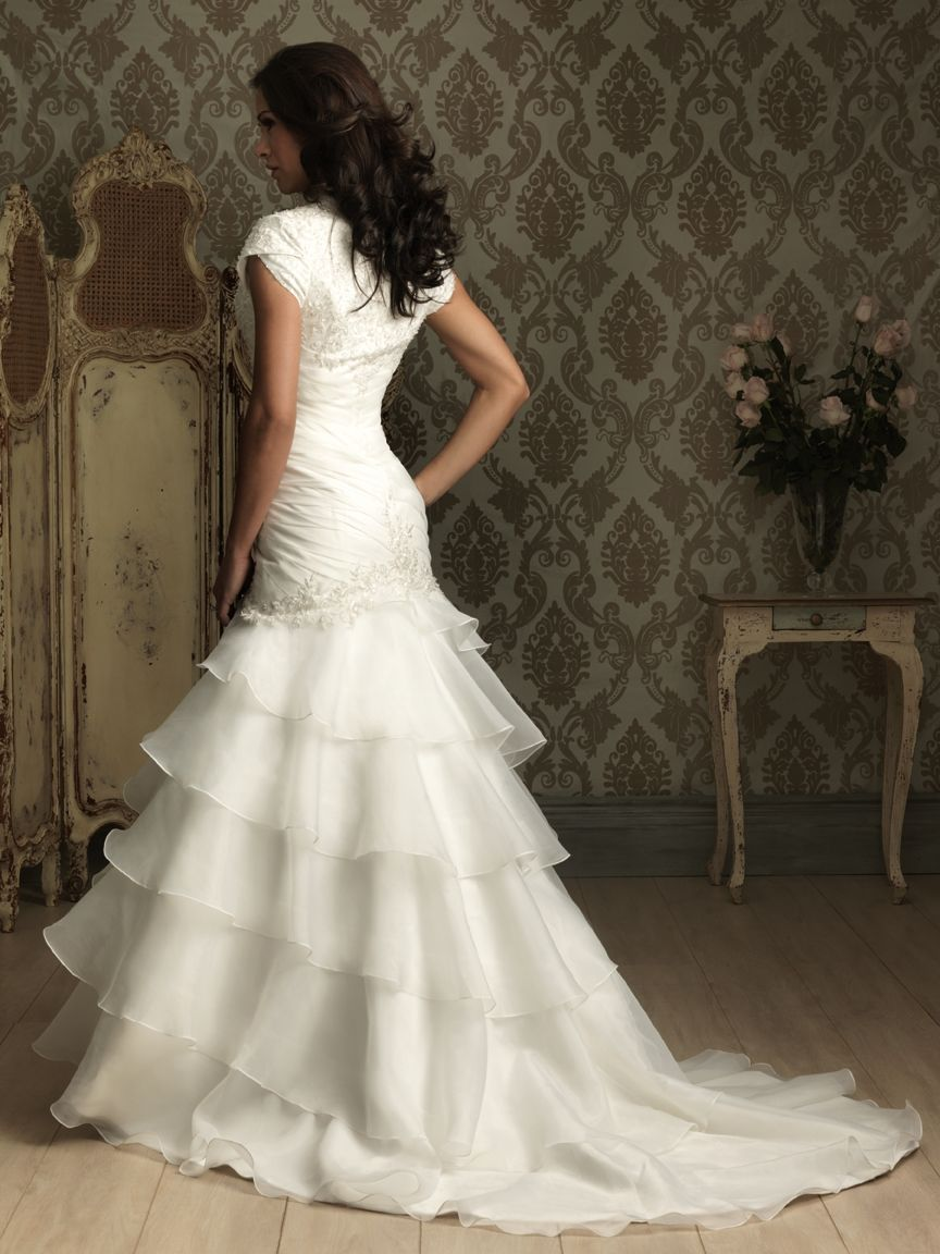 Allure bridals modest collection style m available colours