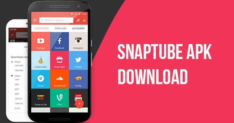 The latest #SnapTube version, SnapTube 4 58 0 4582610, came out