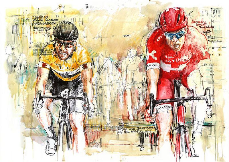 Alexander Kristoff Team Katusha Gewinnt Die 2 Etappe Der 15