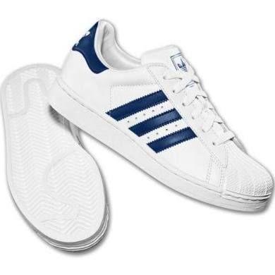 Beauty Adidas Superstar Ii White Navy White Navy 2 Trainers