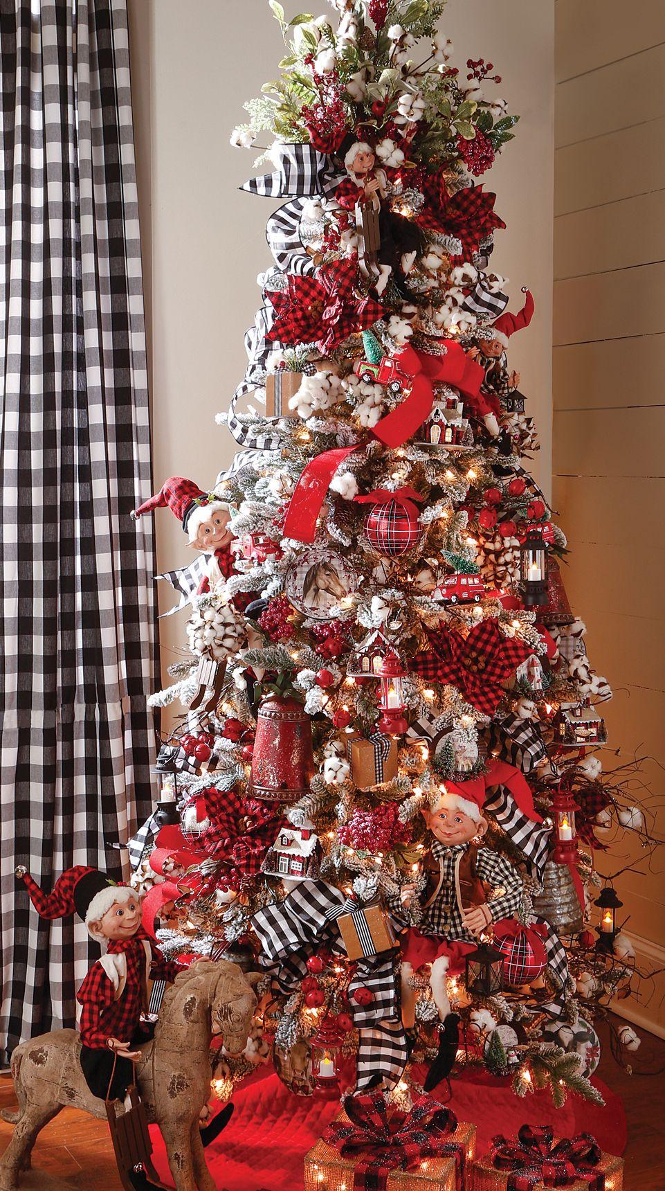 2017 RAZ Christmas Tree Orchard Pre decorated christmas