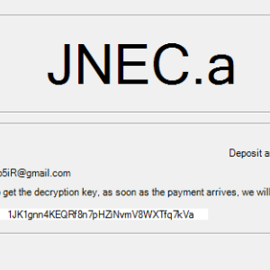 New JNEC a Ransomware delivered through WinRAR exploit