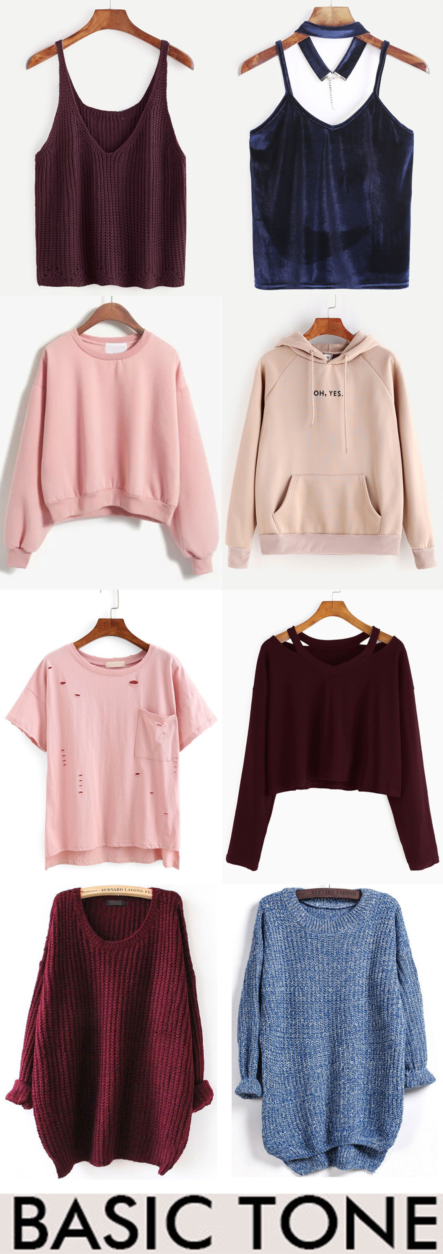 Basic Style - romwe.com  Fashion outfits, Cute outfits, Clothes